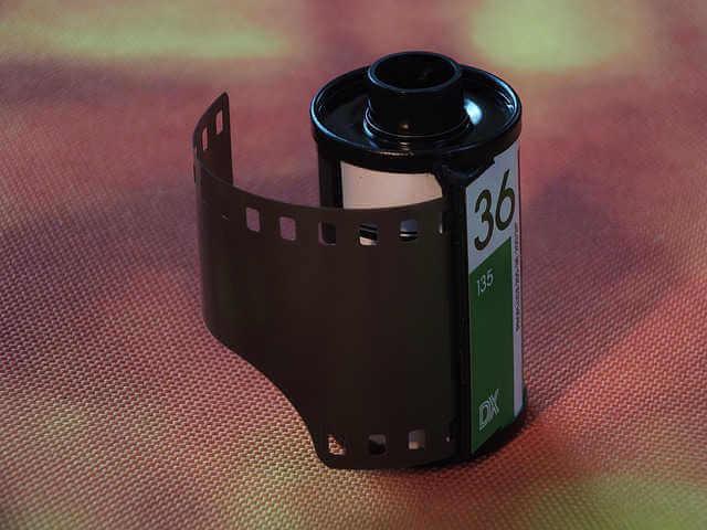 デジタル一眼レフが普及する前はフィルムカメラで撮影していた