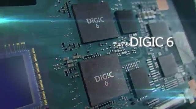 デュアルDIGIC6の高速処理により連写性能や高感度連続撮影枚数に寄与
