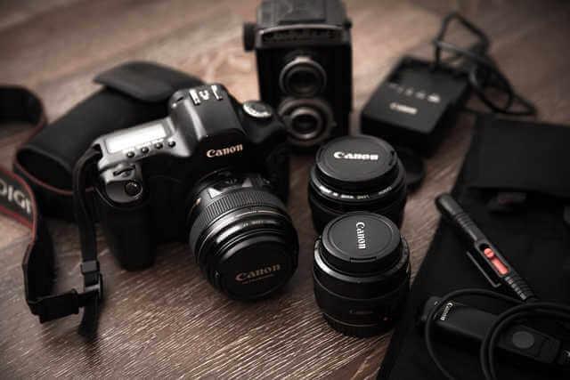 使用している写真撮影カメラ機材