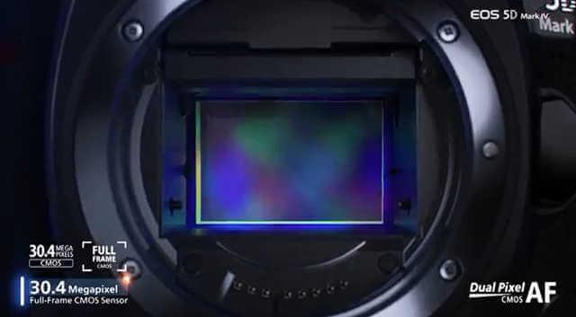 キヤノン5D4のイメージセンサー